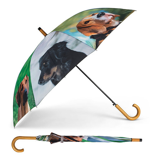 Multi Dog Stick Umbrella - 40""