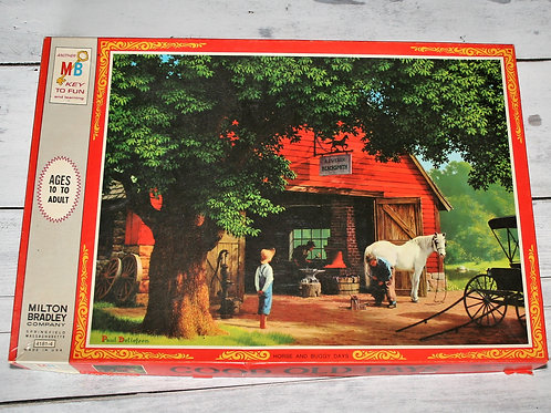 Horse & Buggy Days Puzzle