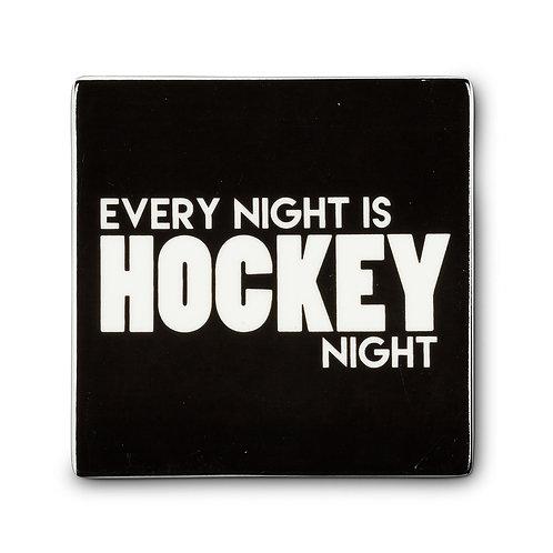 Hockey Night Coaster - Set of 5
