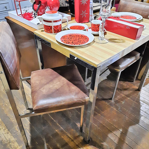Apartment Size Kitchen Table & 2 Chairs