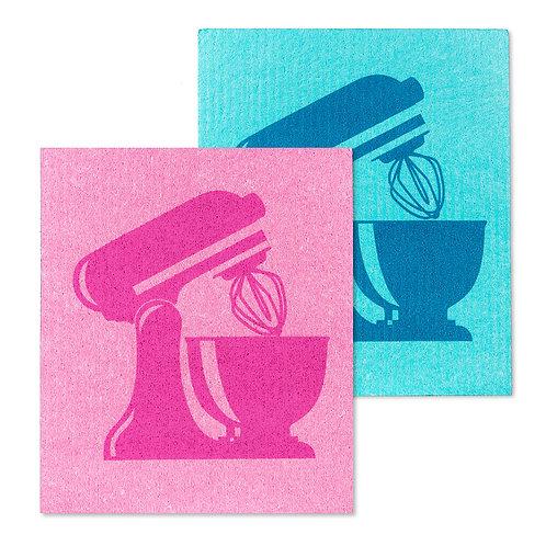 Kitchen Mixer Dishclothes - Set of 2