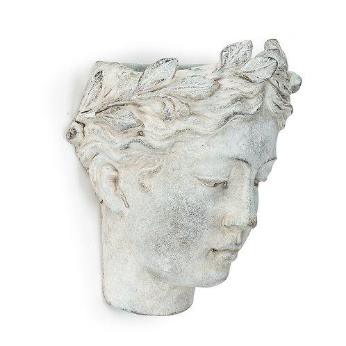Woman Head Wall Planter
