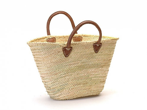 Provence Market Bag Leather Handle