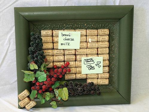 Small Cork Board from Wine Corks