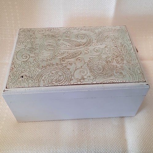 Large Green Storage Box with Lid