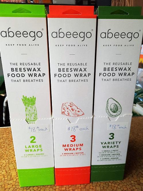 Abeego Beeswax Food Wraps