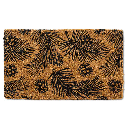 Pinecones & Branches Doormat