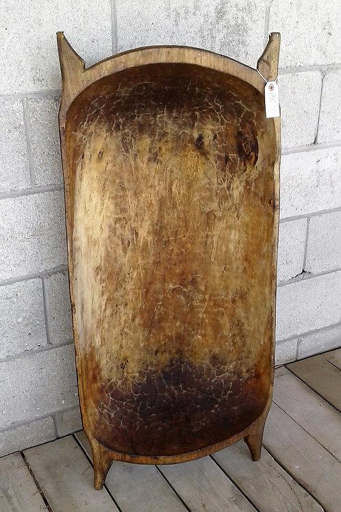 Large Antique Dough Bowl