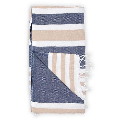 Pokoloko Ariel Turkish Towel Navy Blue
