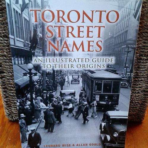 Toronto Street Names
