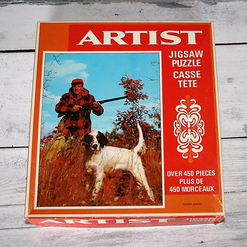 Hunter and Dog Puzzle