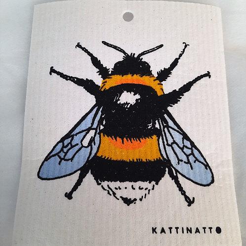 Swedethings Swedish Dish Cloth - Bumblebee