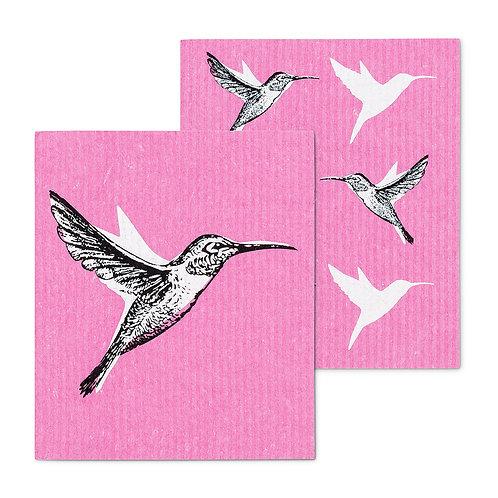 Hummingbird Swedish Dishcloths
