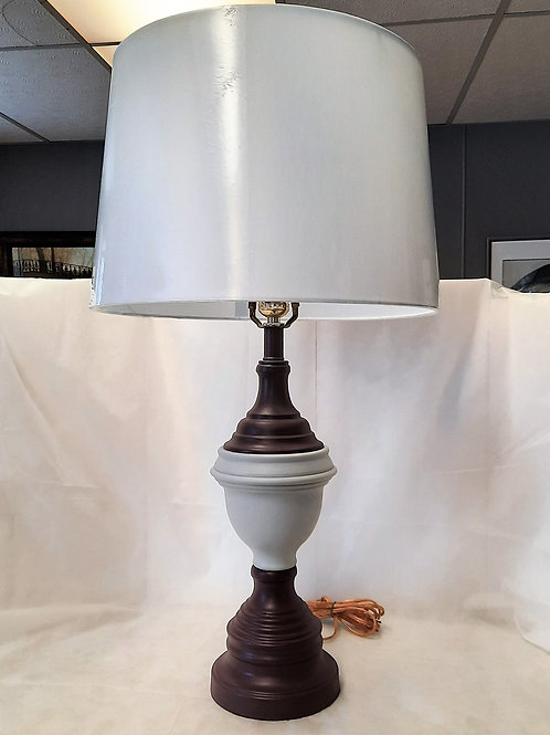 Purple & Gray Table Lamp