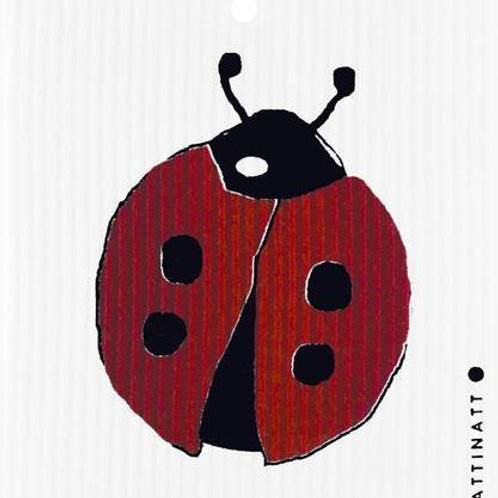 Swedethings Swedish Dish Cloth - Ladybug
