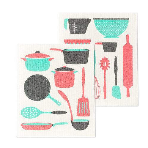 Kitchen Utensils Dishclothes - Set of 2