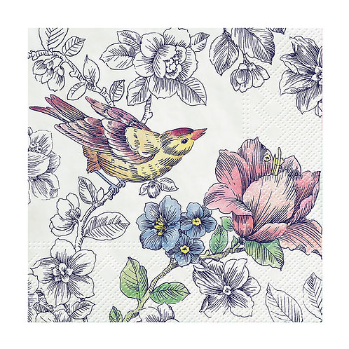Cocktail Dream Garden Napkins. 20 Pack