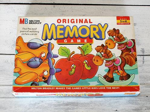 Milton Bradley Original Memory Game