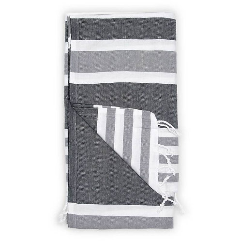 Pokoloko Ariel Turkish Towel Black