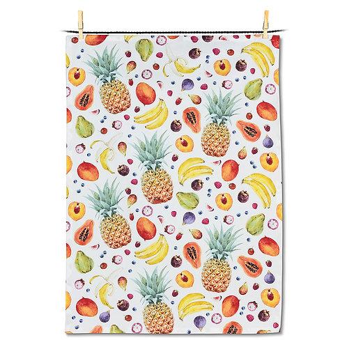 Fruit Explosion Tea Towel