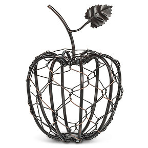 Woven Apple with Leaf