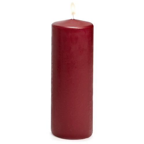 Large Classic Pillar Candles