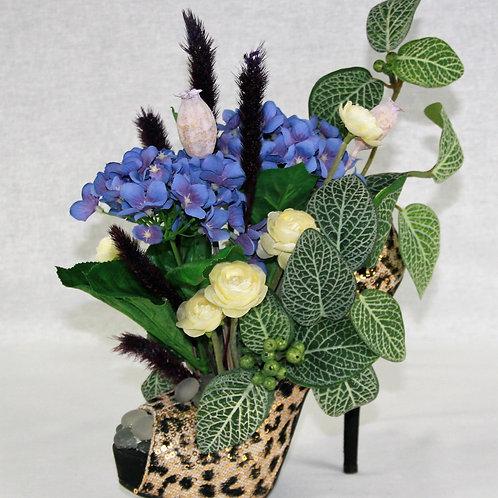 Leopard Stilleto Flower