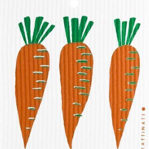 Swedethings Swedish Dish Cloth - Carrots