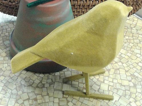 Yellow Velvet Bird