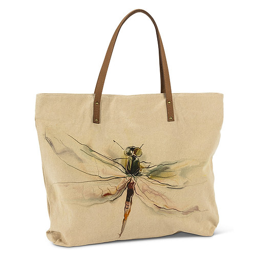 Large Dragonfly Tote Bag
