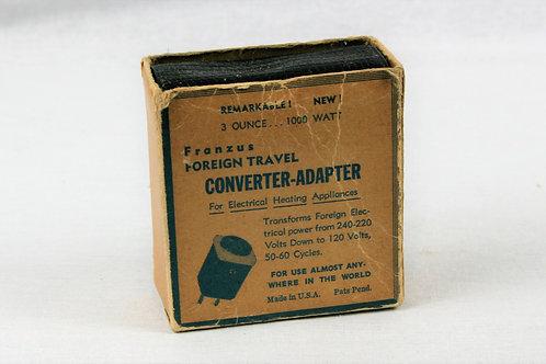 Franzus Model No. 18 Travel Power Adapter