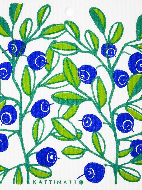 Swedethings Swedish Dish Cloth - Blueberries