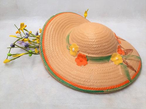 Ceramic Hat Wall Vase