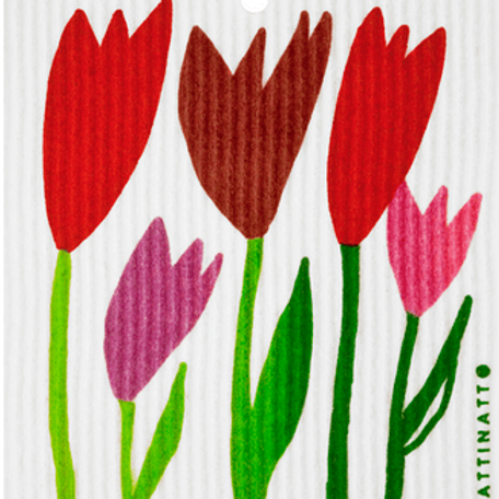Swedethings Swedish Dish Cloth - Tulips
