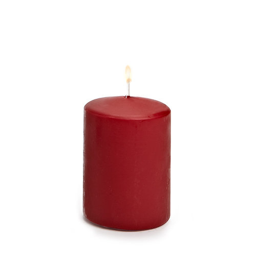 Small Classic Pillar Candles