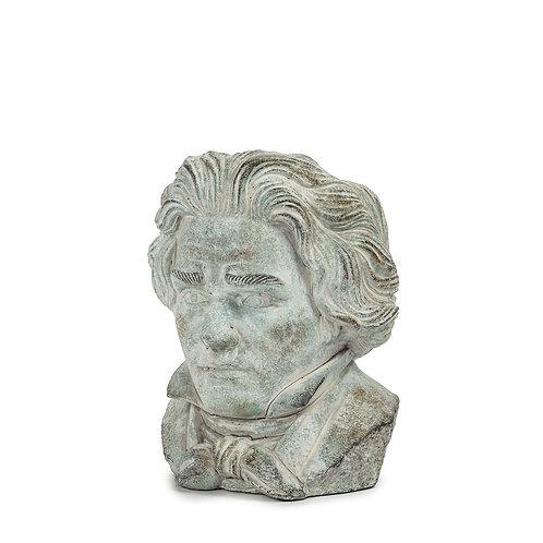 Small Beethoven Head Planter