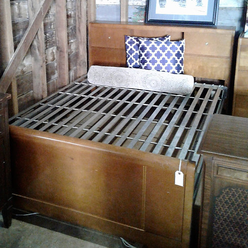 Antique Double Bed and Dresser