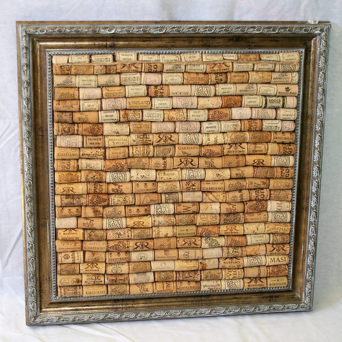 Large Cork Board made from Wine Corks