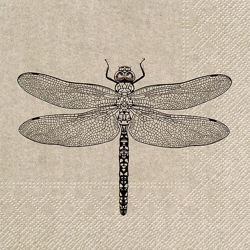Large We Care Dragonfly Napkins