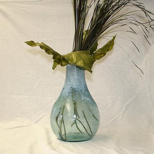 Blue Speckled Vase