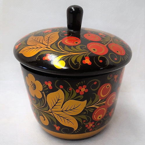 Two Piece Red/Black Pot