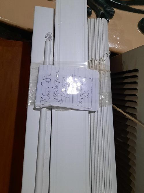 "PVC Blinds - 70""x70"""