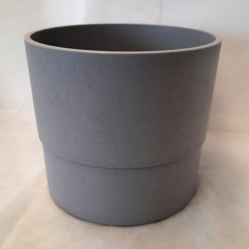 Gray Plastic Vase