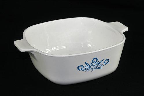 Vintage Blue Cornflower Corning Ware 6 Cup Casserole Dish