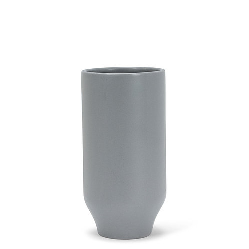 Medium Matte Vase - Grey