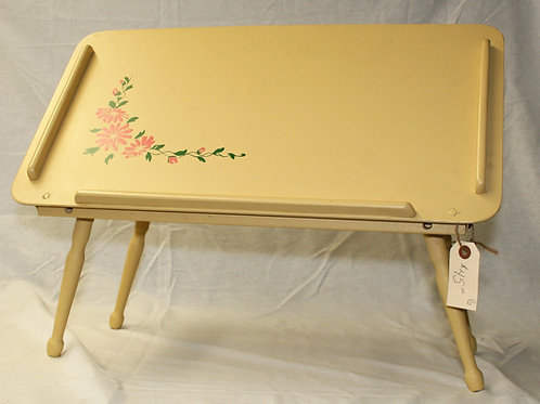 Bed/Lap Tray with Tilting Top