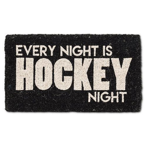Hockey Night Doormat