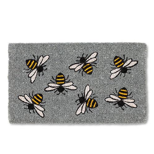 Buzzing Bee Door Mat