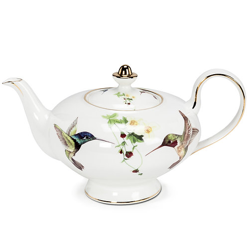 Hummingbird Tea Pot
