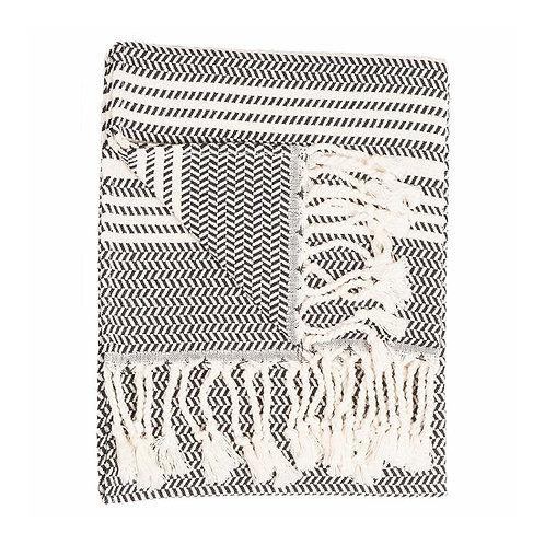 Pokoloko Turkish Hand Towel Hasir Carbon